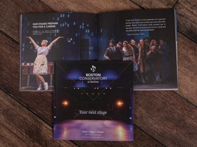 Boston Conservatory Stages Brochure