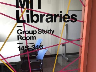 MIT Data Lab Window Graphics