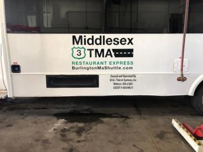 M&L Transportation Bus Graphics