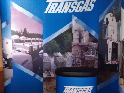 Transgas Trade Show Booth